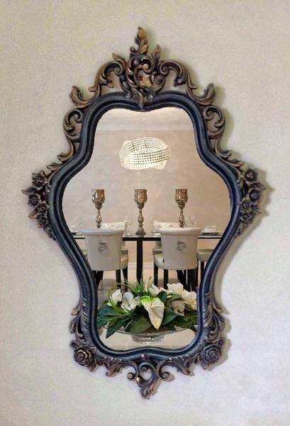 Mirror, Wall Mirror, Syroco Usa 1965 Mirror