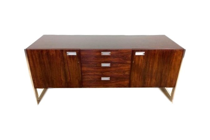 Mid Century Rosewood Sideboard Credenza