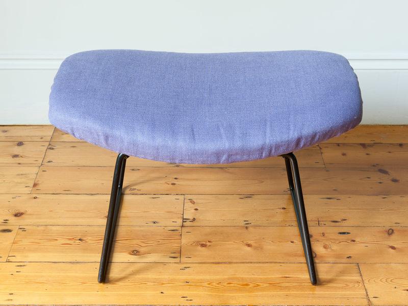 Bertoia For Knoll Bird Chair Ottoman Foot Stool