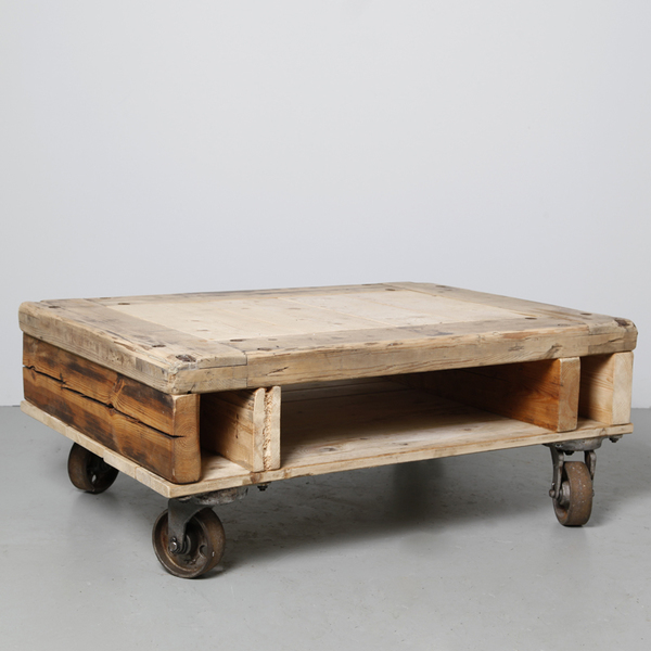 Industrial Coffee Table Double