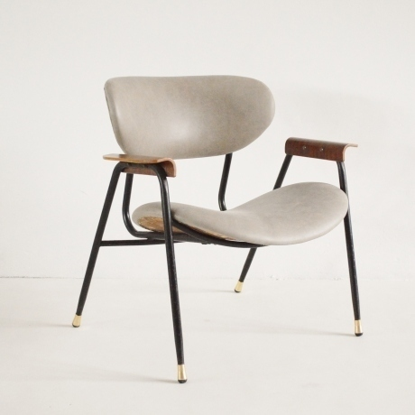 Gastone Rinaldi Leather Armchair photo 1