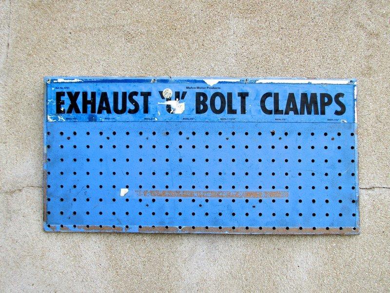 Vintage Garage Auto Industrial Workshop Sign