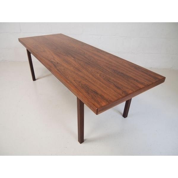 Danish Midcentury Rosewood Coffee Table photo 1