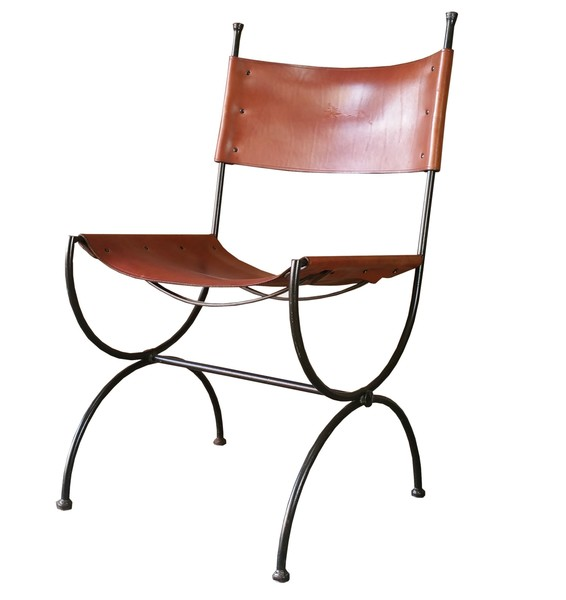 Charleston Forge Saddle Leather Embassy Chair Ch7 Hand Made