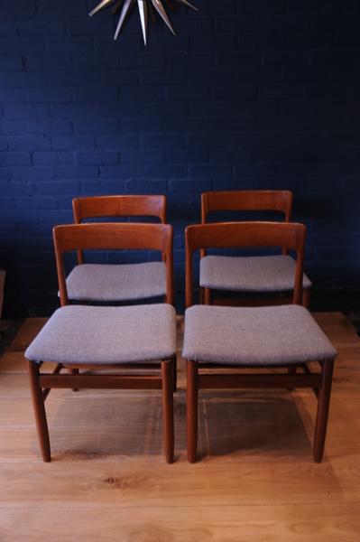 John Herbert For A Younger Set Of Four Teak Dining Chairs Uk Design