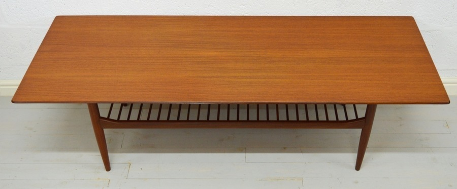 Mid Century Large Teak Coffee Table Designed By Kofod Larsen For G Plan photo 1