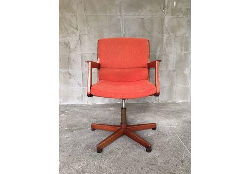 Swivel Danish Teak Chair, 1960s