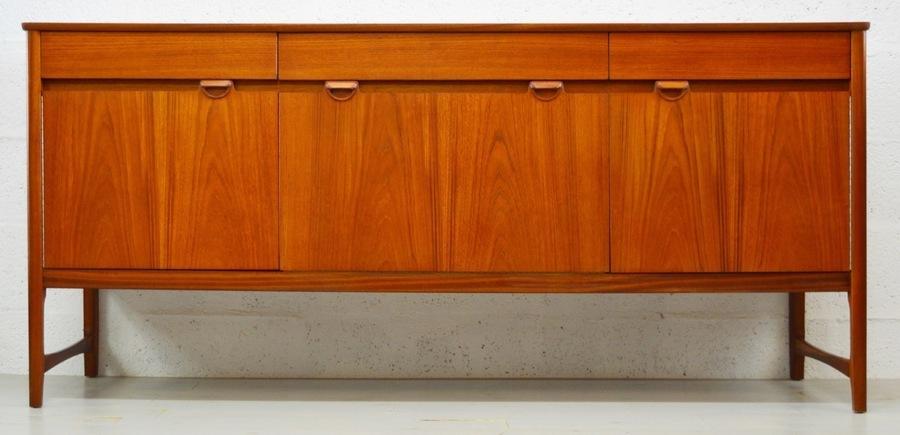 Mid Century Vintage Teak Sideboard By Nathan
