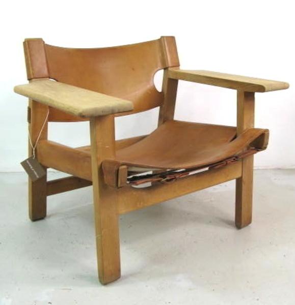 Borge Mogensen 2226 Spanish Chair For Fredericia Mobler