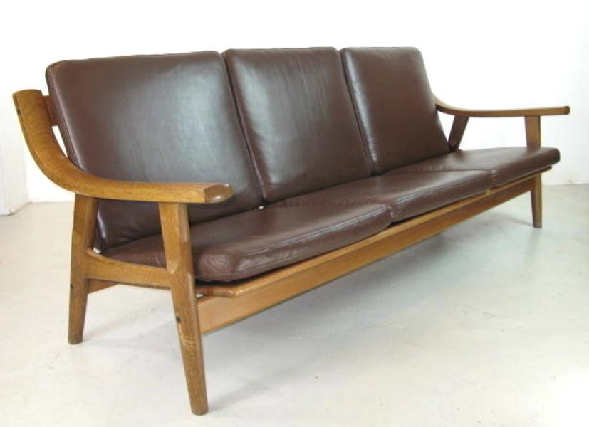 Hans Wegner Ge 530 Sofa For Getema