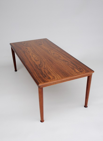 Danish Rosewood Coffee Table By Vejle Stole Mobelfabrik
