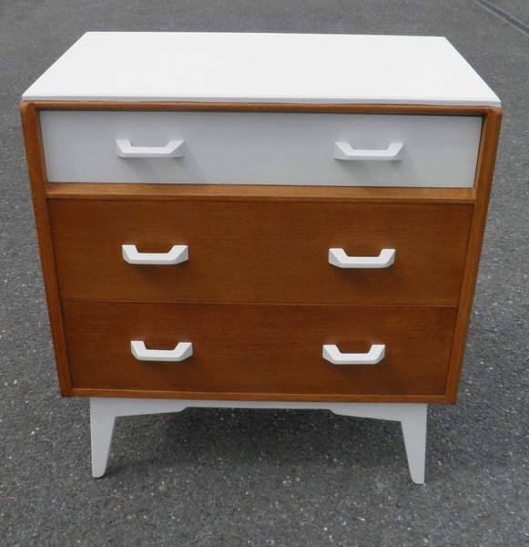 "G Plan ""Brandon"" Secretaire Chest Drawers photo 1"
