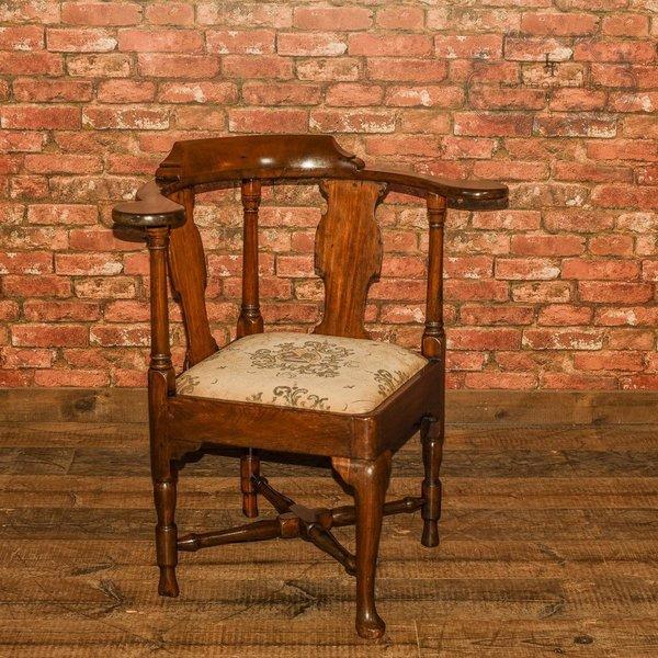 Late Georgian Corner Elbow Chair, C.1790