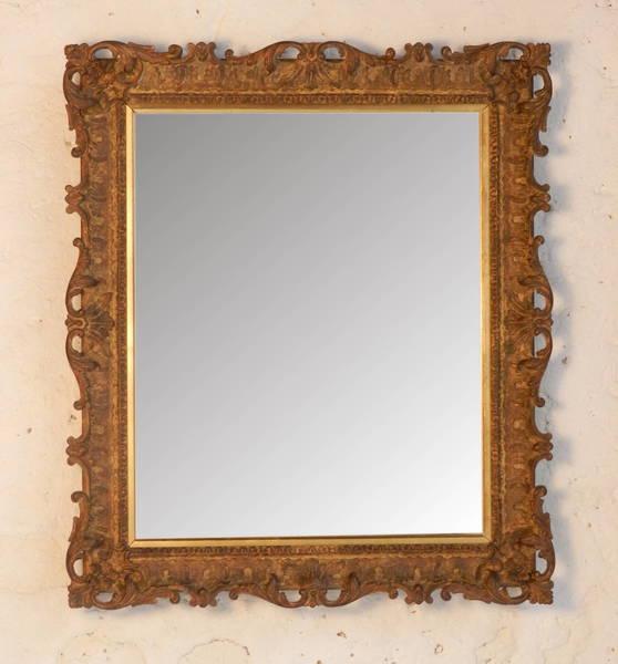 Florentine Giltwood Mirror photo 1