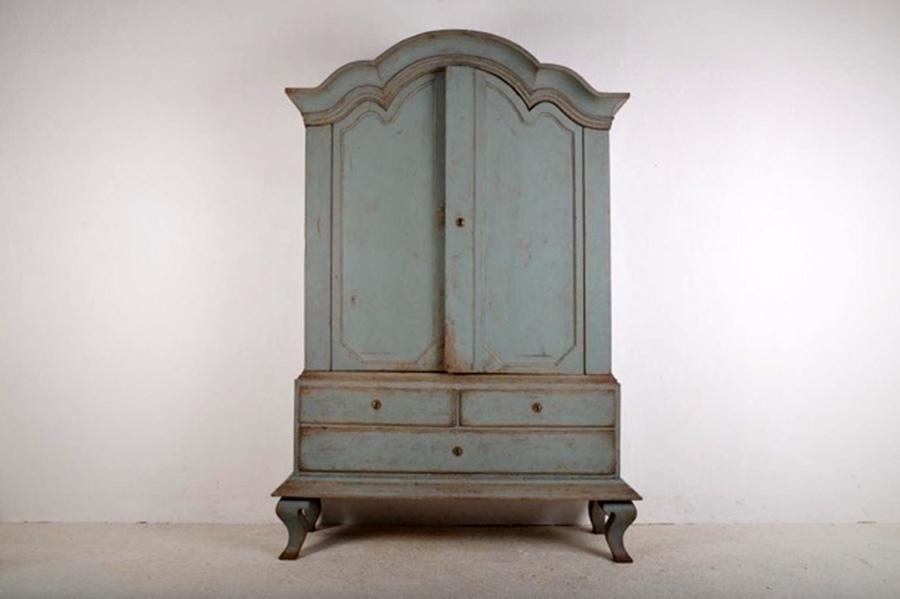 A Superb Swedish Rococo Cabinet