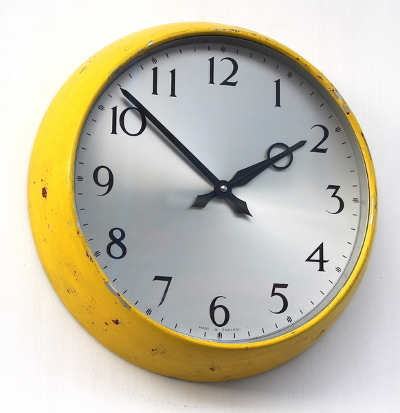 1960s English Synchronome Industrial Wall Clock. Fully Guaranteed.