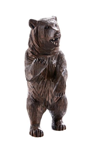 Antique Black Forest Carved Bear C.1900