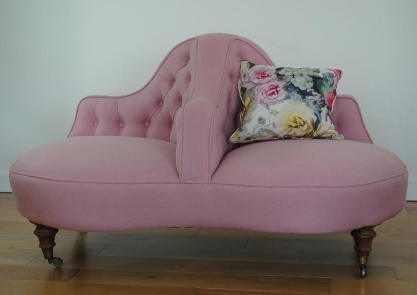 Victorian Conversation Sofa