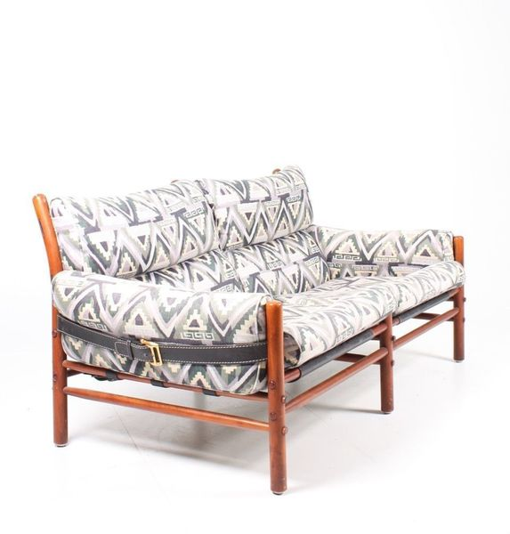 Mid Century Sofa By Arne Norell For Arne Norel Ab, 1980s