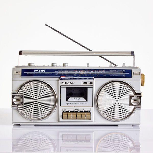 Gf 5454 Cassette Player From Sharp, 1980s