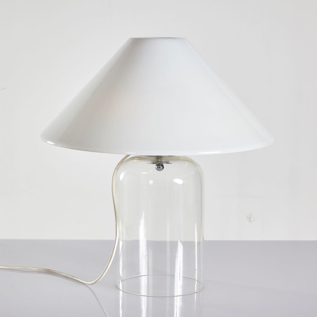 Alega Glass Table Lamp By Vico