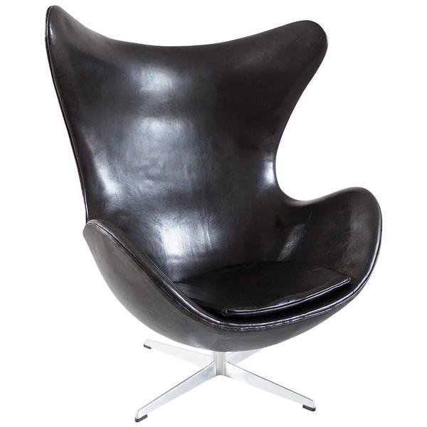 Egg Chair By Arne Jacobsen For Fritz Hansen Original Early Edition, Denmark