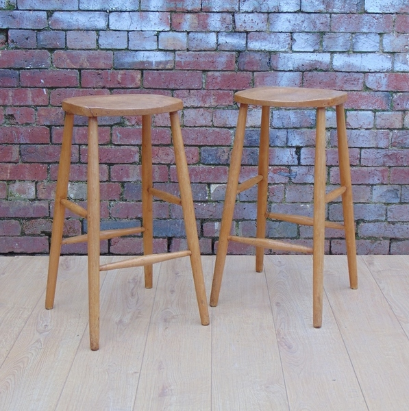 Pair Of Vintage Bar Stools
