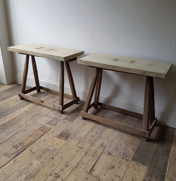 A Pair Of  Tables