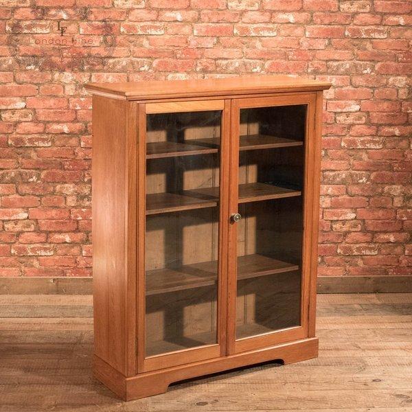 Victorian Glazed Bookcase Cabinet, C.1900