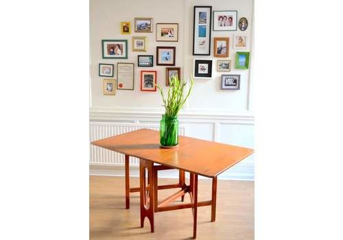 7f1bf7f7c52e Vintage Mc Intosh Drop Leaf Table. Delivery. Modern   Mid Century   Danish  Style