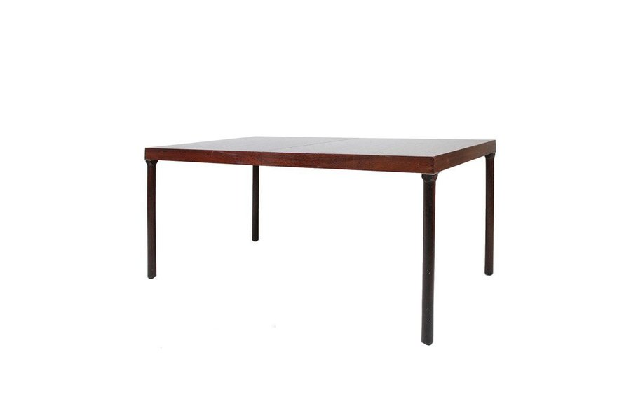 Coffee Table With Slate Stone Top Denmark Circa 1960 Photo 1