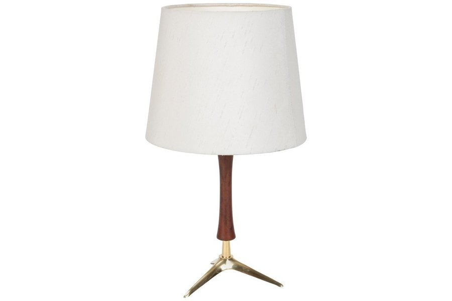 Attr J T Kalmar Table Lamp Lightning 1950s