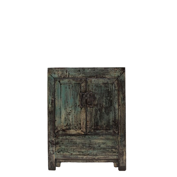 Duck Egg Blue Lacquered Cabinet C.1900