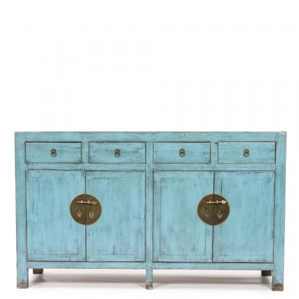 Blue Rustic Beijing Sideboard