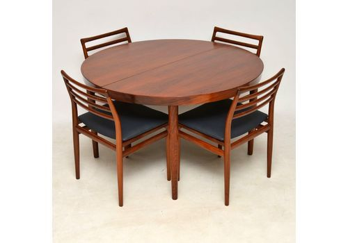 dd61aa7edf67f 1960 s Danish Rosewood Dining Table   6 Chairs By Erling .