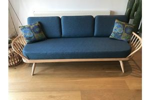 Thumb ercol blonde studio couch daybed fully professionally refurbished ercol 0