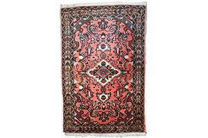 Thumb handmade vintage persian lilihan rug 1 9 x 3 59cm x 93cm 1970s 1 c617 0