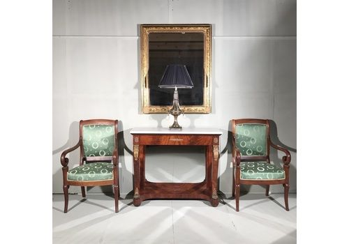 Beautiful Console Table And Mirror Set French Empire Tables Interiors Tables 1900-1950