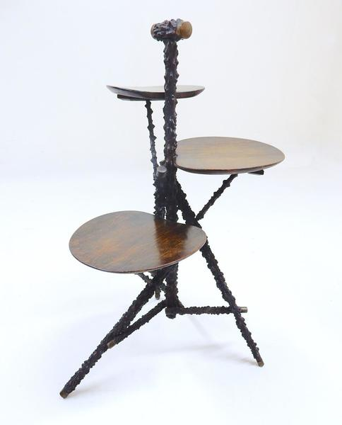 Vintage Blackthorn & Oak Cakestand