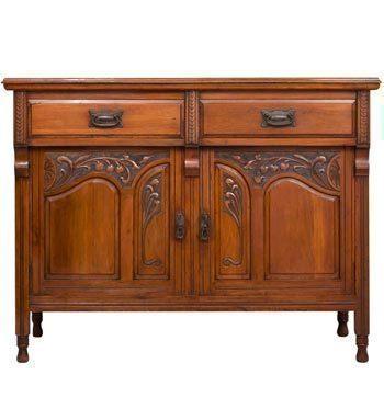 Art Nouveau Mahogany Sideboard