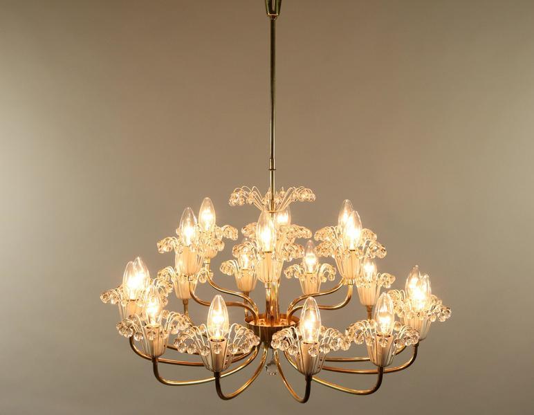 Livorno Noble Brass 4 Light Chandelier