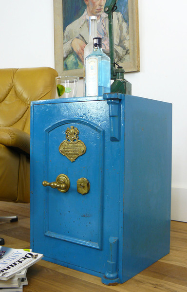 Victorian Antique Safe By Thomas Skidmore With Key