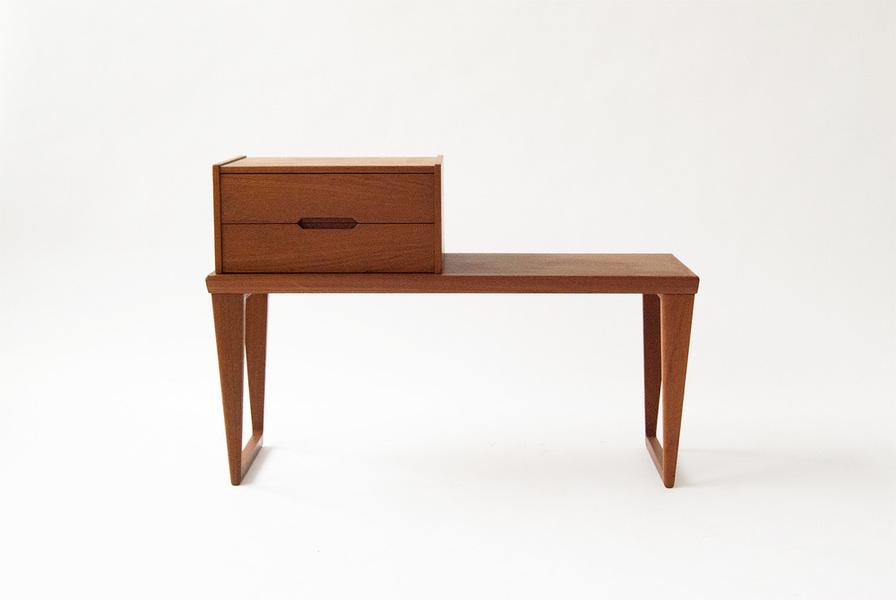 Kai Kristiansen Teak Bench, C1955