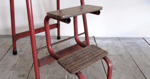 Vintage Step Stool Vinterior