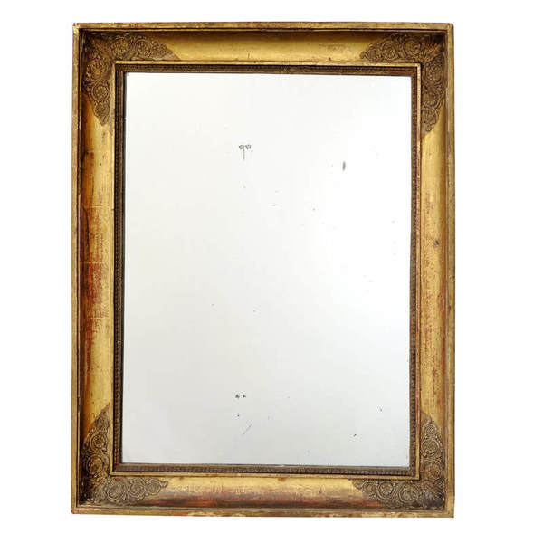 French Empire Napoleonic Period ​Gilt Mirror Circa 1820 photo 1