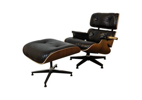 Amazing Eames Recliners Vintage Eames Lounge Recliner Chairs For Pabps2019 Chair Design Images Pabps2019Com