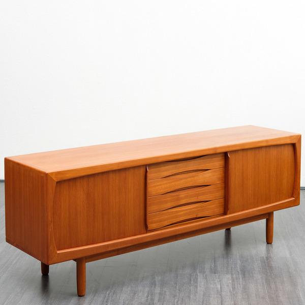 60er Jahre Sideboard Teak H P Hansen Danemark H P Hansen