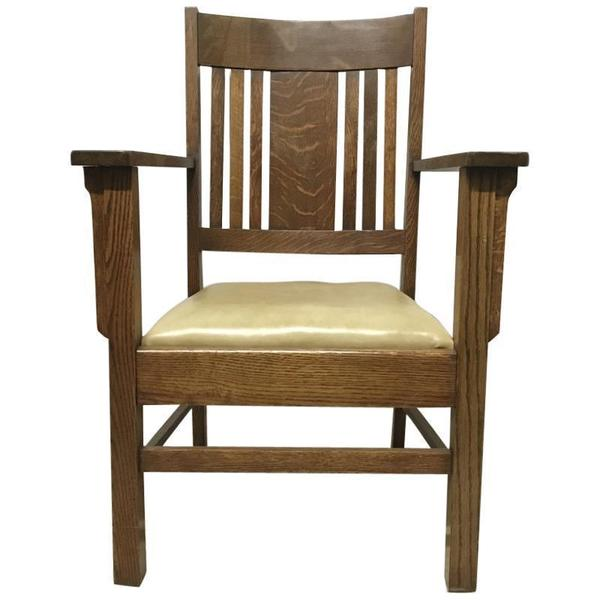 Collections Of Stickley Leopold Chair Ottoman