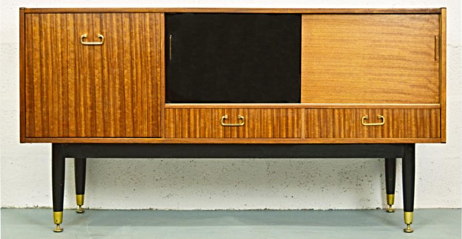 Mid Century G Plan Teak Sideboard From The Tola Range With Sliding Doors