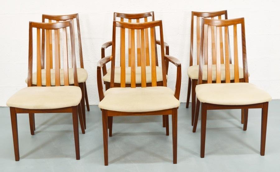 Mid Century Vintage Teak 1980's G Plan Chairs photo 1